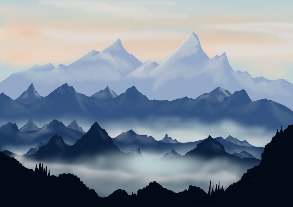 provoke art 3563931 1280 1024x723 - The best graphic designs of mountains for download pdf indir